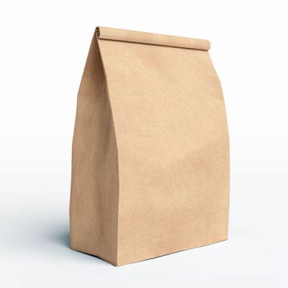 Bolsa de papel para delivery